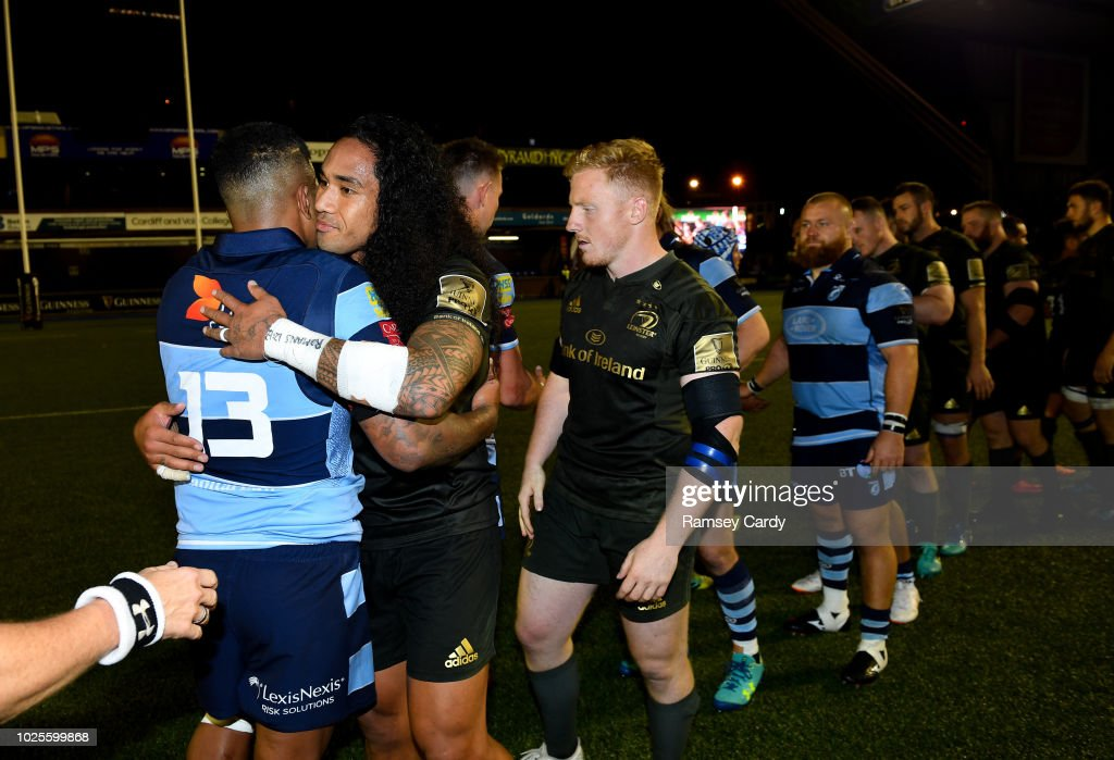 Cardiff Blues v Leinster - Guinness PRO14 Round 1 : News Photo