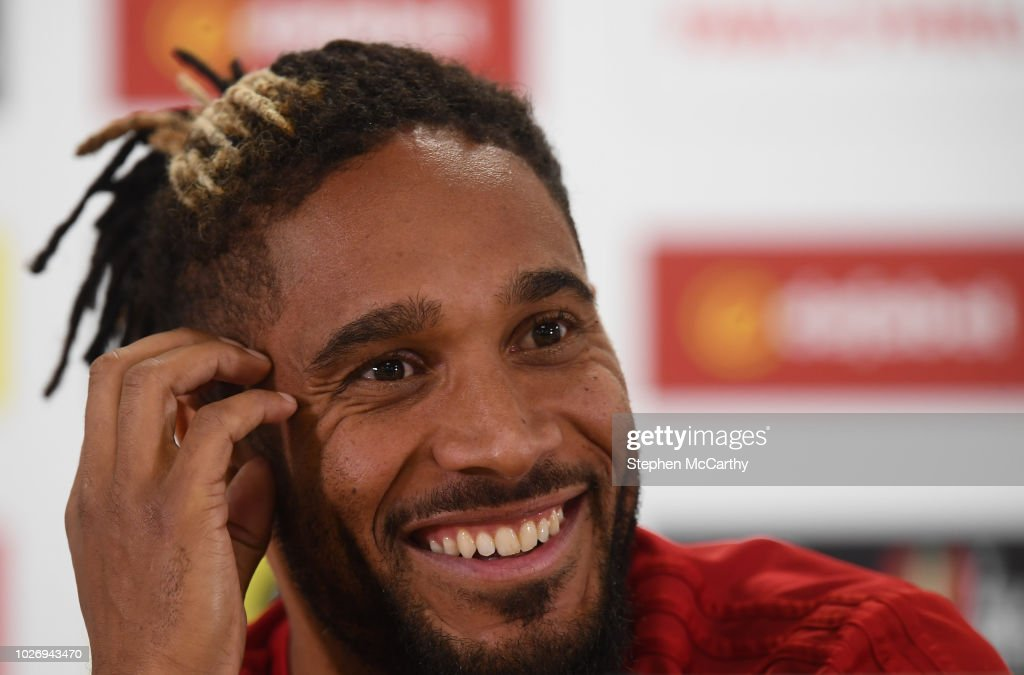 Wales Training Session and Press Conference : News Photo