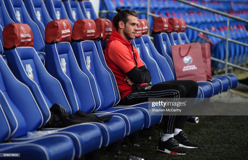Wales Squad Training and Press Conference : Foto di attualità