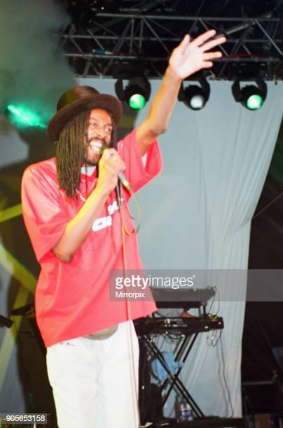 Cardiff's Big Weekend Summer Festival Cardiff Wales 5th August 2000 Aswad reggae music group