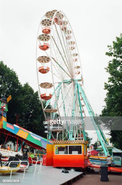 Cardiff's Big Weekend Summer Festival Cardiff Wales 7th August 1998