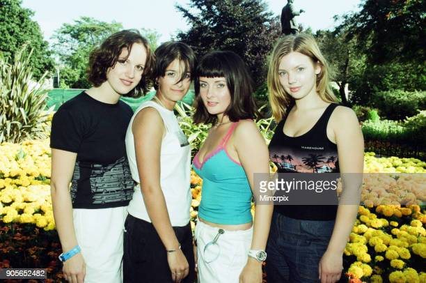 Cardiff's Big Weekend Summer Festival Cardiff Wales 7th August 1999 Hepburn All Girl Music Group
