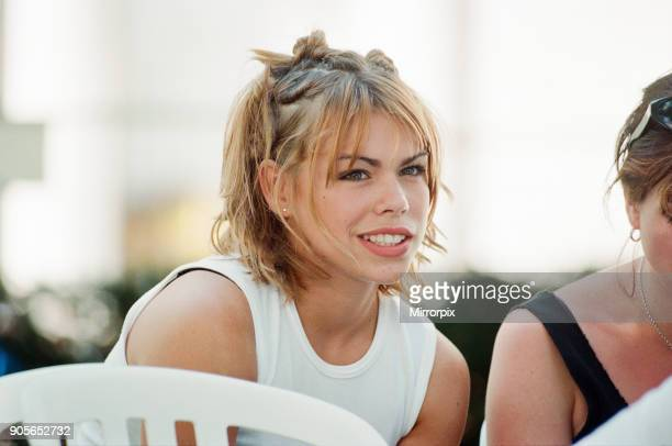 Cardiff's Big Weekend Summer Festival Cardiff Wales 8th August 1998 Billie Piper Singer