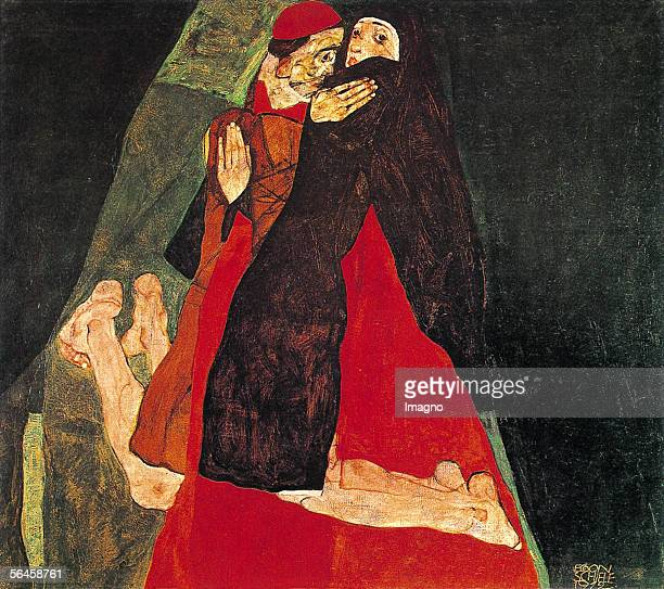 Cardinal and Nun By Egon Schiele 1912 Oil on Canvas8 x 801 cm [Kardinal und Nonne Von Egon Schiele 1912 oel auf Leinwand8 x 801 cm]