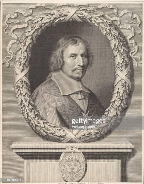 Cardinal Antonio Barberini 1663 Artist Robert Nanteuil
