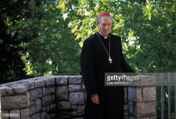 Cardinal Carlo Maria Martini in Italy in January 1995