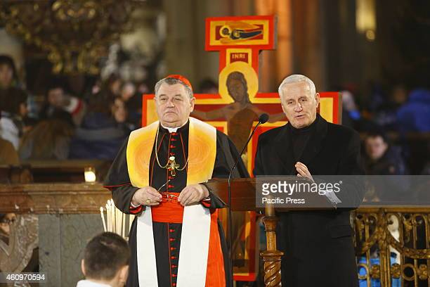 Cardinal Dominik Duka O.P. , the Roman Catholic archbishop of Prague, and Pastor Daniel Fajfr , president of the Church of Brethren and the president...