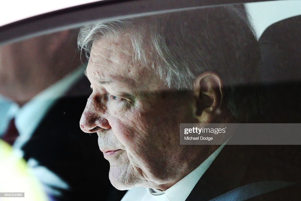Cardinal George Pell Committed To Stand Trial On Historical Child Abuse Charges : News Photo