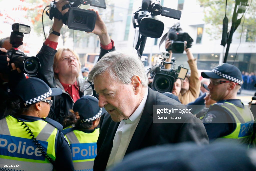 Judge To Decide If Cardinal George Pell Will Stand Trial On Historical Child Abuse Charges : News Photo