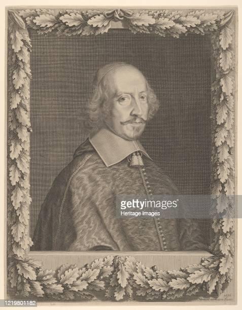 Cardinal Jules Mazarin 1656 Artist Robert Nanteuil