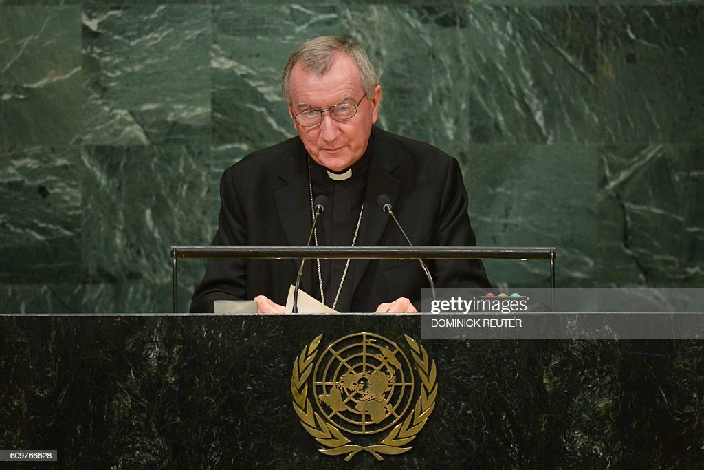 UN-GENERAL ASSEMBLY-HOLY SEE : News Photo