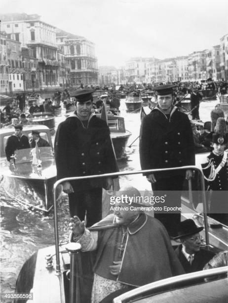 Cardinal Roncalli arrives in Venice Mar 16 1953