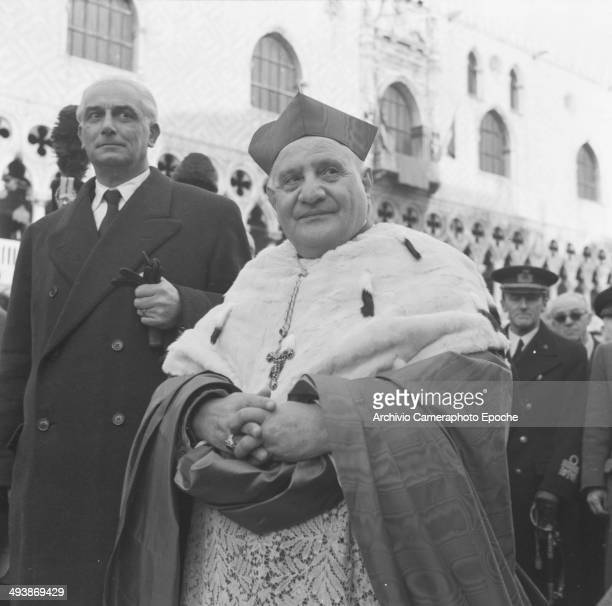 Cardinal Roncalli Patriarch of Venice