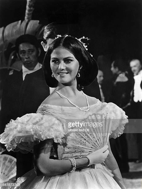 Cardinale Claudia Actress Italy * Scene from the movie 'Il Gattopardo'' Directed by Luchino Visconti Italy / France 1962 Produced by Titanus Vintage...