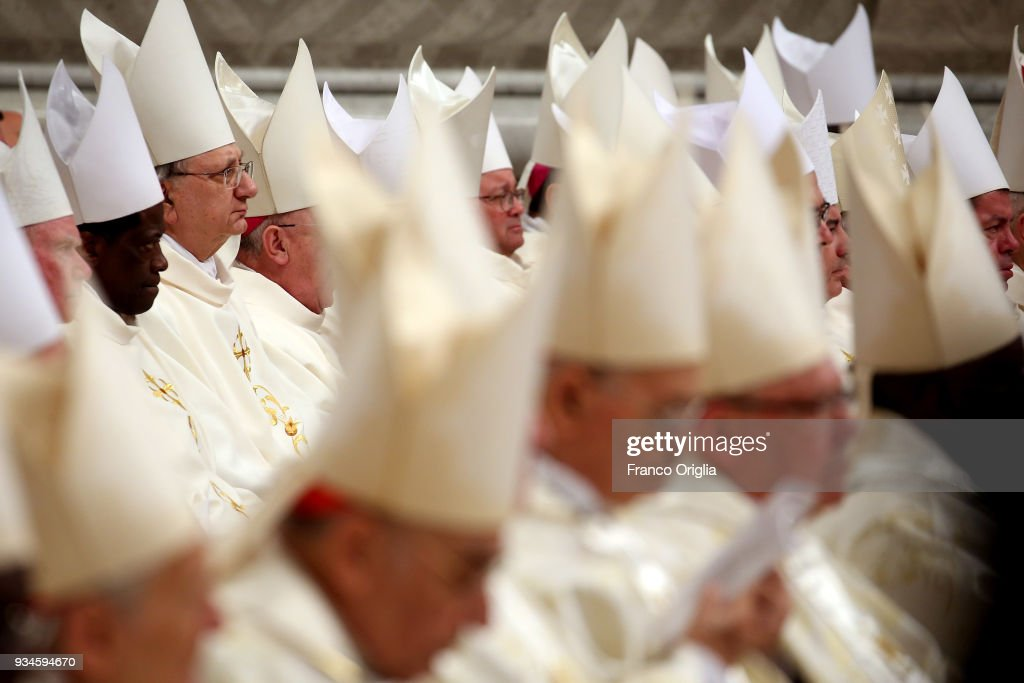 Pope Francis Leads The Episcopal Ordinations