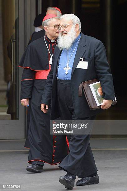 Cardinals from the world over met for four days in Rome in order to discuss the future of the Catholic Church. Cardinal Usar Lubomyr.