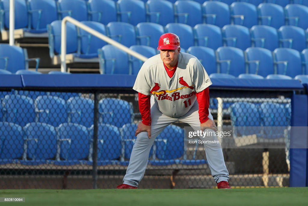 MiLB: AUG 14 Florida State League - Cardinals at Blue Jays : News Photo