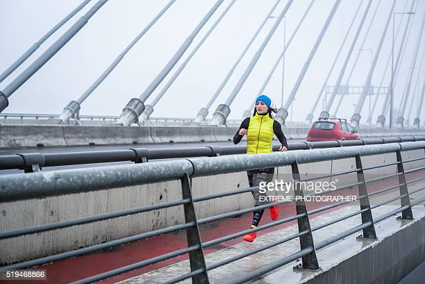 Cardio training on the bridge