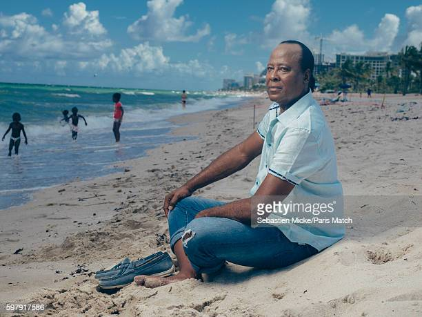 Cardiologist and personal physician to Michael Jackson Conrad Murray is photographed for Paris Match on March 13 2016 in Fort Lauderdale Florida