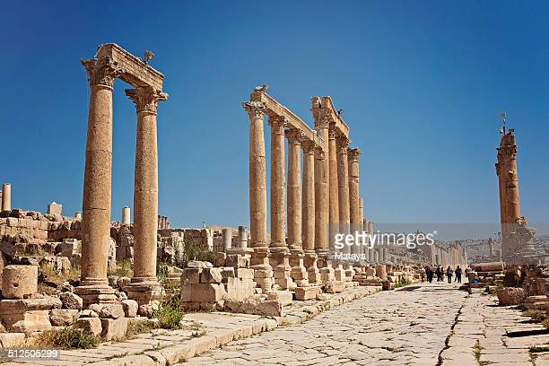 Cardo Maximus in Jearsh, Jordan
