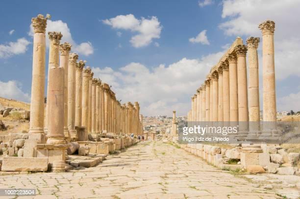 Cardo Maximus, Jerash, Jordan.