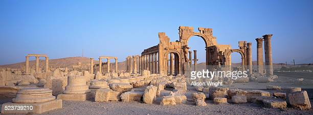 Cardo Maximus Ruins at Palmyra