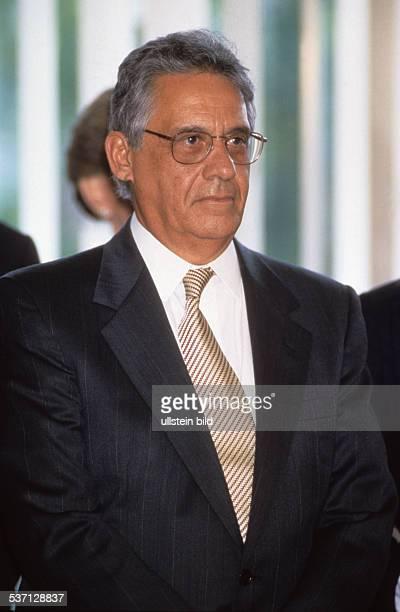 Cardoso Fernando * Politiker Soziologe Brasilien Staatspraesident 19952002 Portrait September 1995