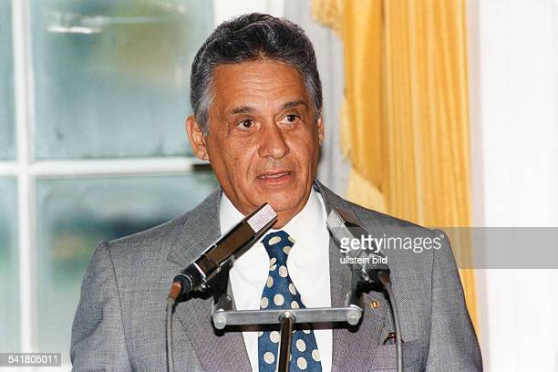 Cardoso Fernando *Politiker Soziologe BrasilienStaatspraesident 19952002 Portrait September 1995