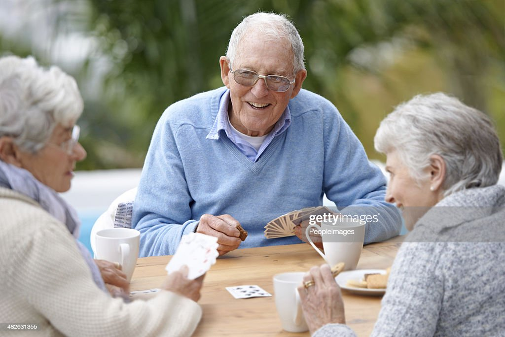 Care for a wager ladies? : Stock Photo