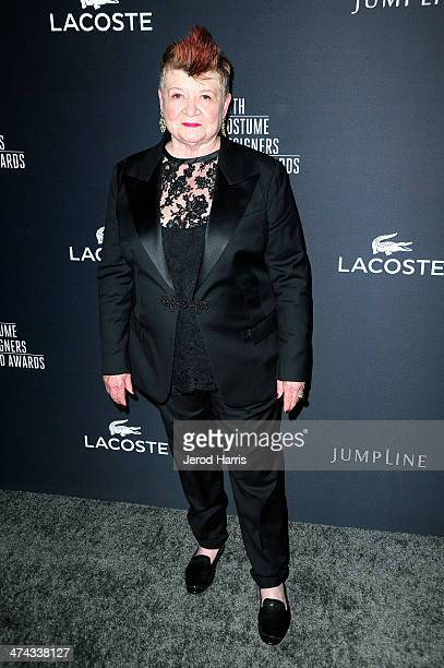 Career Achievement Award Honoree April Ferry attends the 16th Costume Designers Guild Awards with presenting sponsor Lacoste at The Beverly Hilton...