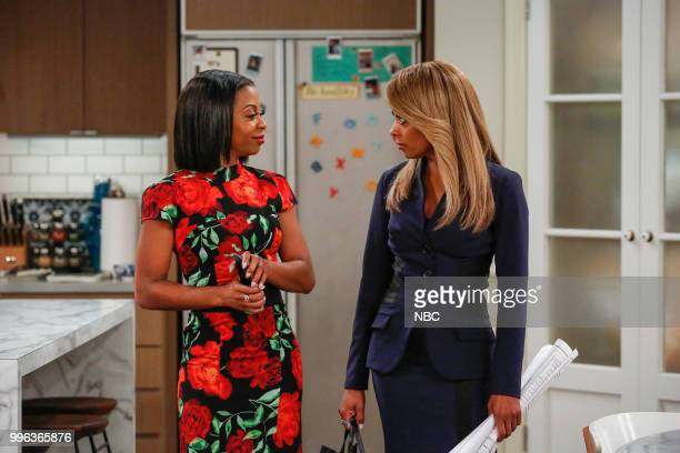 MARLON 'Career Day' Episode 209 Pictured Bresha Webb as Yvette Essence Atkins as Ashley Wayne