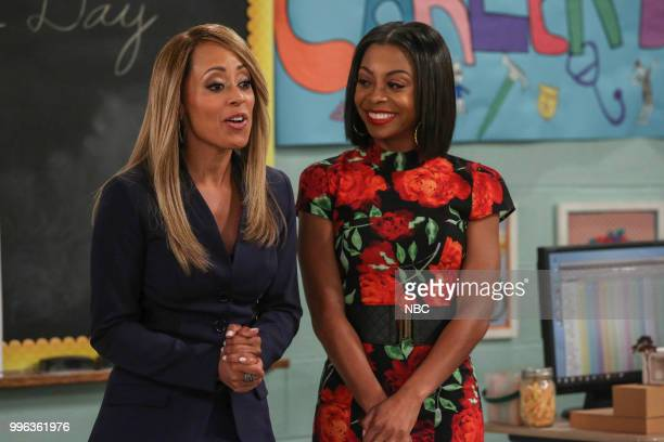 MARLON 'Career Day' Episode 209 Pictured Essence Atkins as Ashley Wayne Bresha Webb as Yvette