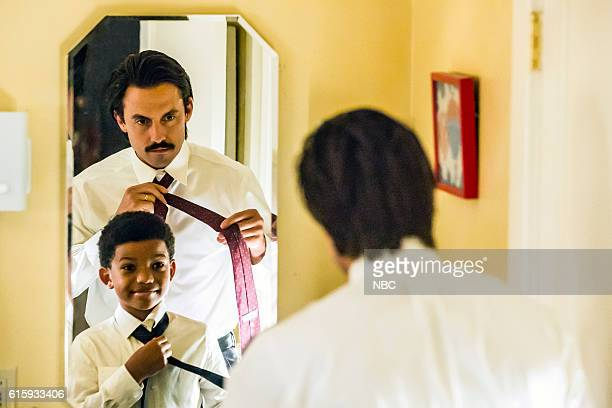 US 'Career Days' Episode 106 Pictured Lonnie Chavis as Randall Milo Ventimiglia as Jack