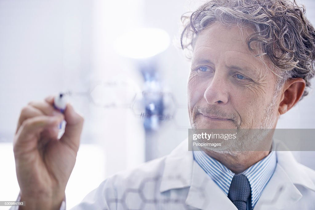 A career doing what he loves : Stock Photo
