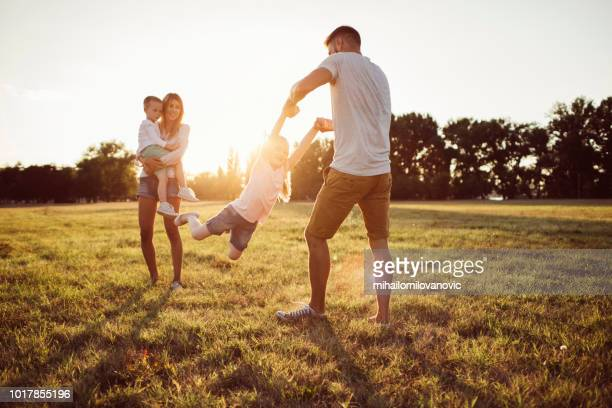 carefree childhood - picnic stock pictures, royalty-free photos & images
