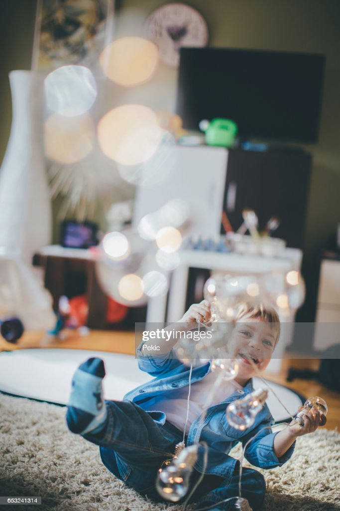 Carefree childhood : Stock Photo