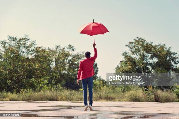 carefree - 傘 ストックフォトと画像