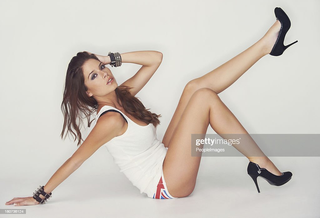 Carefree sensuality : Stock Photo