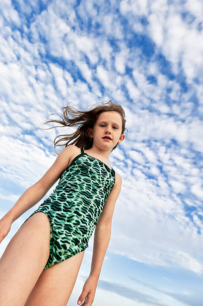 Carefree Young Girl At The Beach Pictures  Getty Images-4368