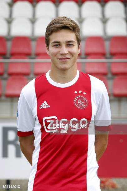 Carel Eiting during the team presentation of Ajax on July 22 2017 at the at the Toekomst in Amsterdam The Netherlands