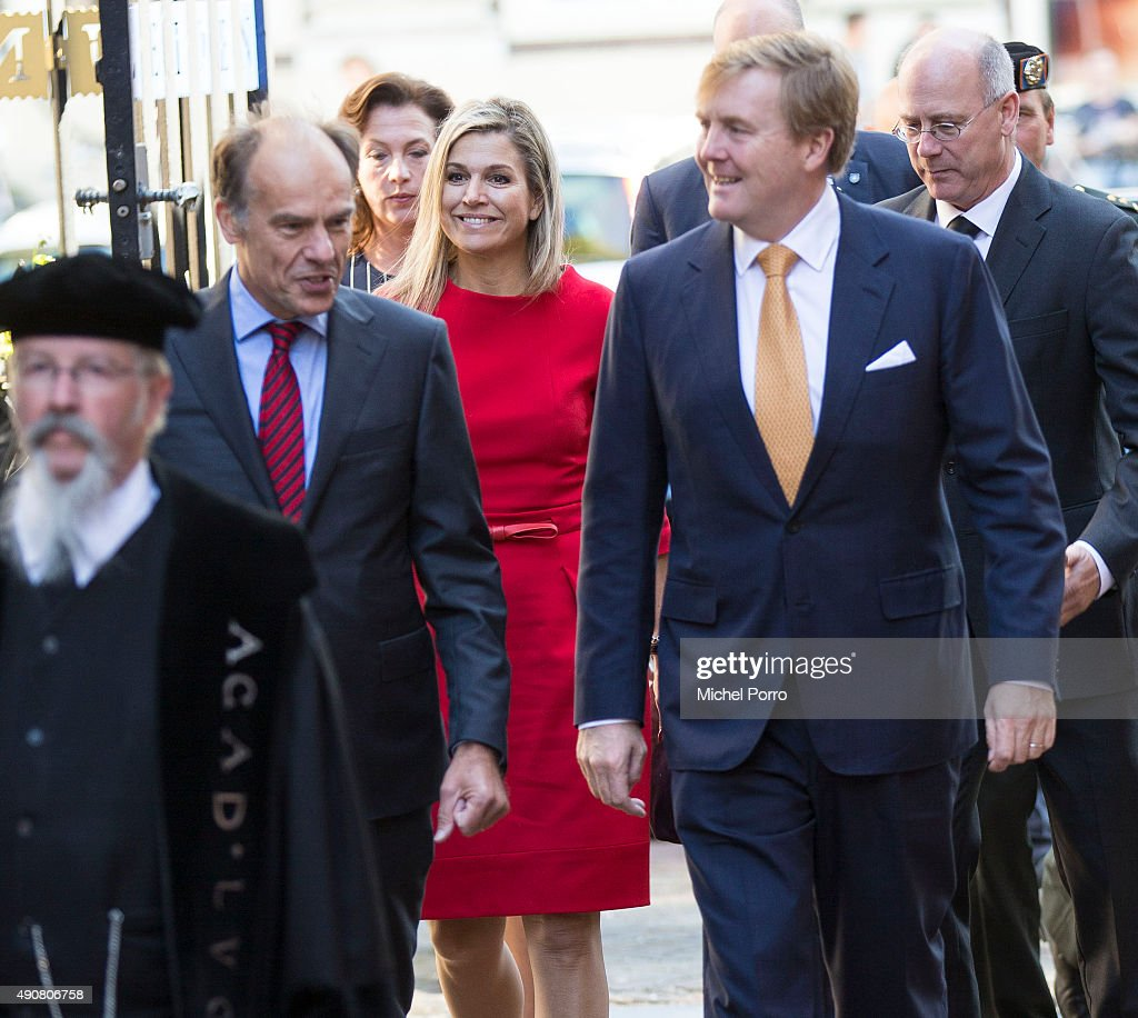 King Willem-Alexander and Queen Maxima Attend Symposium China In The Netherlands : News Photo
