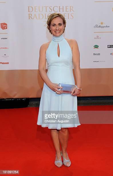 Caren Miosga attends Deutscher Radiopreis 2012 at Schuppen 52 on September 6 2012 in Hamburg Germany