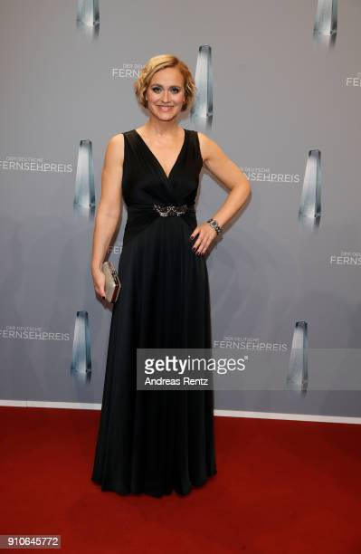 Caren Miosga attends the German Television Award at Palladium on January 26 2018 in Cologne Germany