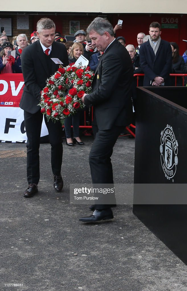 GBR: Manchester United Commemorate the Munich Air Disaster