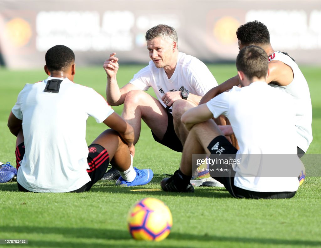 Manchester United Warm Weather Training Session : News Photo