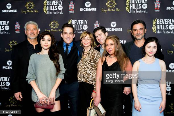 'Caretakers' Cast attend the 2019 Beverly Hills Film Festival Opening Night at TCL Chinese 6 Theatres on April 03 2019 in Hollywood California
