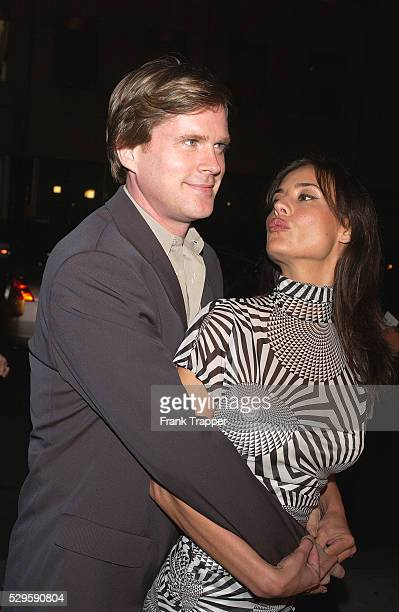 Carey Elwes and his wife arrive at the premiere of 'Eternal Sunshine of the Spotless Mind'