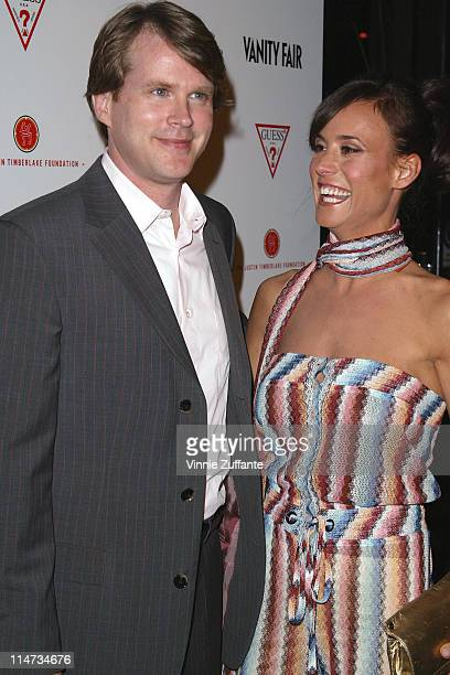 Carey Elwes and wife Lisa Marie Kurbikoff attending Vanity Fair's Amped Pre Oscars Benefit for the Justin Timberlake Foundation presented by Guess at...