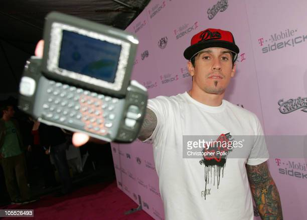 Carey Hart during T-Mobile Limited Edition Sidekick II Launch - Red Carpet at T-Mobile Sidekick II City in Los Angeles, California, United States.