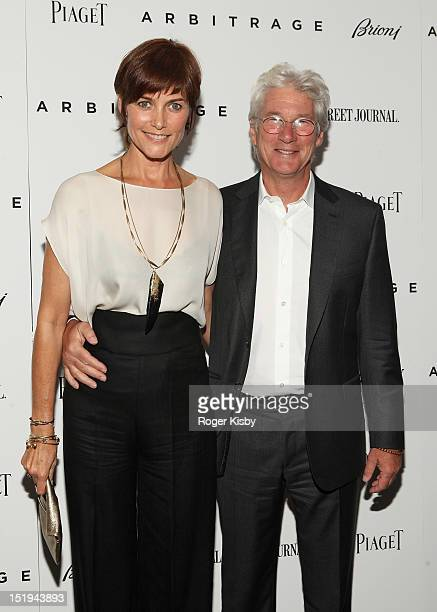 Carey Lowell and Richard Gere attend the Arbitrage New York Premiere at Walter Reade Theater on September 12 2012 in New York City